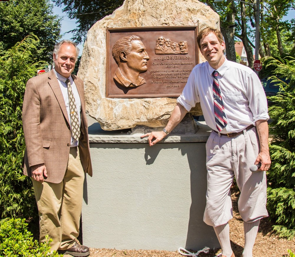 Mike and Lou memorial